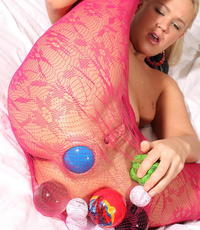 Love her butthole. Roxy Raye Loves to shove balls up her analy and slowly push them out to see her analyhole stretch.
